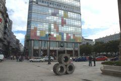 Centre ville de la Corogne